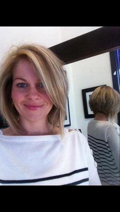 Cute hair cut!