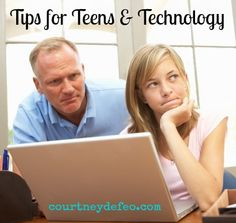 Great advice from a teen mom on technology.