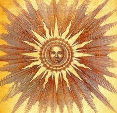 celesti, moon, brother sun, art, sol, bright side, inspir, golden sun, light