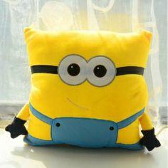 Minion Pillow on Pinterest Crochet Minions, Minion Toy and Minion Craft