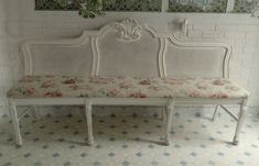 painted furniture, headboard benches, dining chairs, chair bench, bed headboards, diy headboards, banquett, old chairs, antiqu