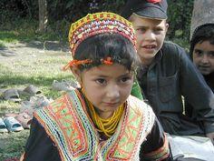 Cute Kalash Girl