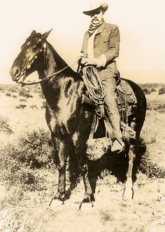 Tom Rynning was appointed second captain of the Arizona Rangers in 1902; the following year, he posed for this photograph. Rynning was in the U.S. Cavalry during the Indian Wars, where he was engaged in 17 battles across the West. He was a lieutenant in the Rough Riders and was appointed to lead the Rangers by Gov. Alexander Brodie, who was his lieutenant colonel in the Rough Riders.