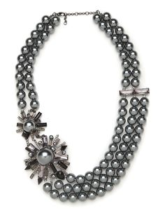 Tahitian Burst Bib - Necklaces - Categories - Shop Jewelry   BaubleBar