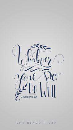 Ecclesiates 9:10