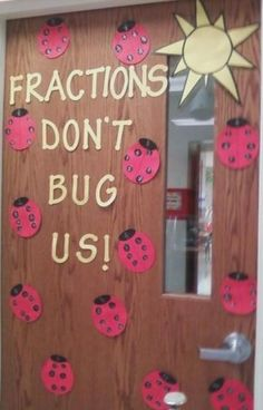 Cute idea! The head of the lady bug has fraction written on it.  The spots are equivalent fractions!  I may be doing this in 2 weeks!