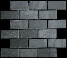 slate tile mosaics on pinterest glass tiles mosaics and