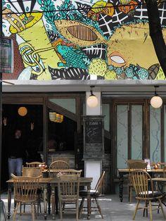 Restaurante Yuban, en la Col. Roma Norte