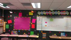 Neon classroom