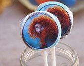 Brave Party Favors -  5 Disney Brave Lollipop party Favors
