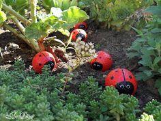 Golf ball lady bugs