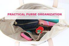 IHeart Organizing: UHeart Organizing: Practical Purse Organization