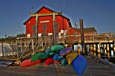 Coupeveille Wharf  by Whidbey Island Photography, Whidbey Island