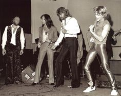 The Bee Gees with Andy Gibb