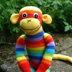 a sock monkey not thee sock monkey