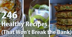 Healthy Recipes that Won't Break the Bank