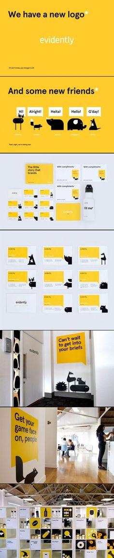 evidently #corporate #identity #branding
