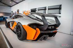 McLaren P1 GTR. Jay Leno.
