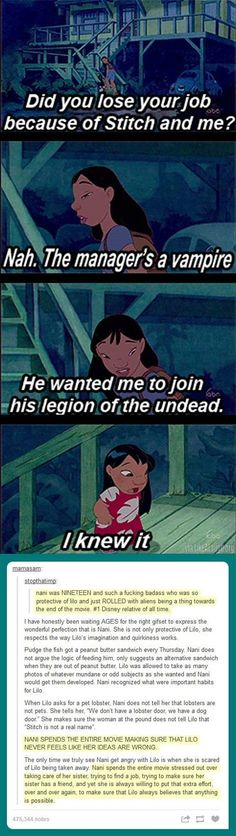Nani was the best Disney relative of all time