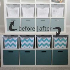 Convert boring storage bins to colorful ones