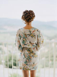 By Elizabeth Messina. Plum Pretty Sugar robe.