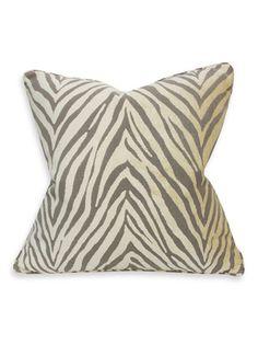 Barclay Butera Royal Tiger Ash Pillow