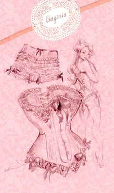 ...lingerie drawing...love!