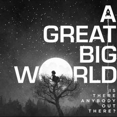 A great big world--absolutely love this album cover