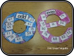 Nice strategies for working with odd and even numbers - includes a freebie!