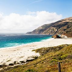 In Big Sur, Highway 1 leads to long, uncrowded beaches made for meditative walks.