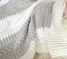 Ravelry: Baby Blanket - P023 pattern by OGE Knitwear Designs