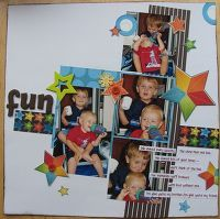 A Project by hamtaro807 from our Scrapbooking Gallery originally submitted 05/21/07 at 10:01 AM