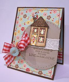 Home using {ippity} stamps by unity stamp company - devoted
