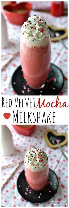 Red Velvet Mocha Mil