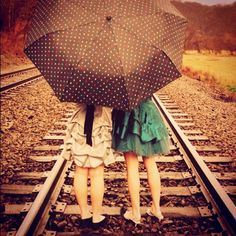 train tracks, bff, friend pics, sister pictures, friend pictures, taking pictures, train track photoshoot friends, sister photography, friend photography