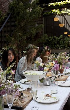 Kinfolk Magazines Flower Pot-Luck | Amy Merrick | Flickr - Photo Sharing!