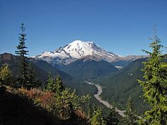 Cascade Mountains - Mount Rainer