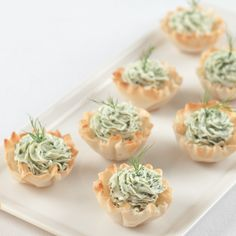 Herbed Goat Cheese Phyllo Cups