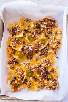 Snack of the Day: Cincinnachos! – Cincinnati-Style Chili Cheese Nachos: recipe and photo by Jackie Alpers
