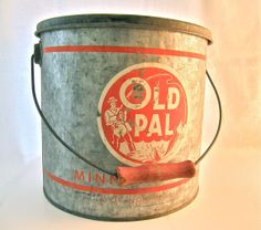 Convinced I could do something cool with this old minnow bucket?