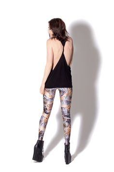 Twist Back Top by Black Milk Clothing