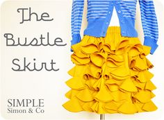 The Bustle Skirt-looks easy, is this made w jersey knit?