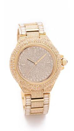 love the texture - michael kors watch