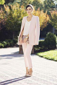 Romantic, pastel hued style.