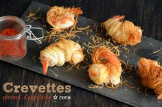 crevettes kadaïf coc