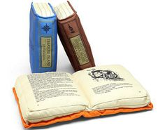 Book Pillows | Community Post: 16 Gifts For Your Favorite Book Lover Under $26 Each