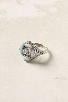 Opal & Diamond Ring from Anthropologie