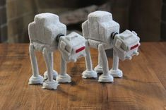 Felted Star Wars Tributes by etsy seller Famished