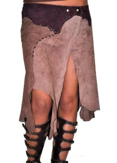 ALANGOO-Natural Suede Nudist-Colored Wrap in the Softest Suede – Cocoa/Tan Project Cloth, Handmad Fashion, Alangoonatur Sued, Sew Project, Sued Nudistcolor, Boho Style, Leather Idea