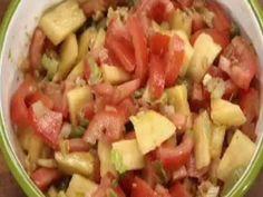 Ensalada de tomate y ananá   Recetas Narda Lepes   Utilisima.com